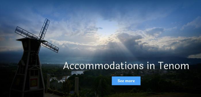 Accommodations in Tenom