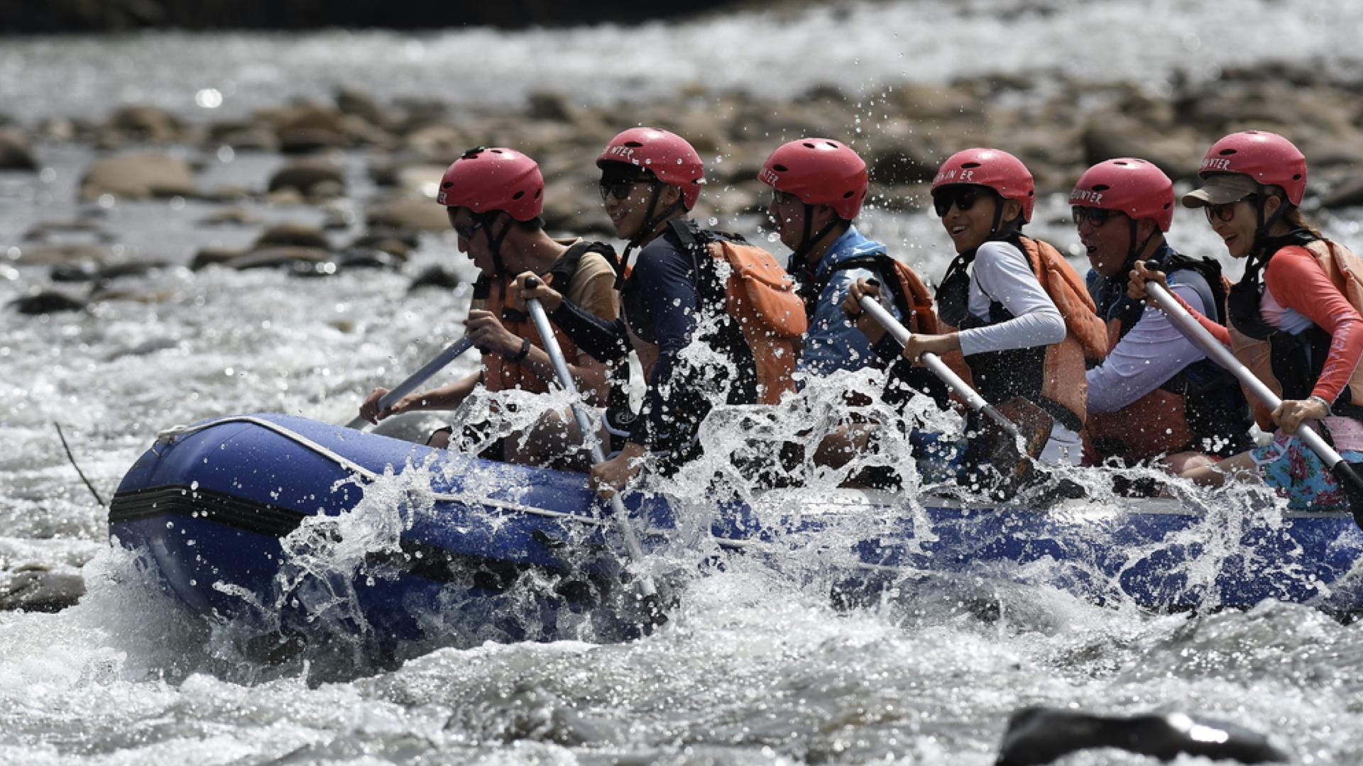 Tenom White Water Rafting